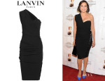 Mariska Hargitay's Lanvin One-Shoulder Dress