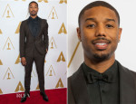 Michael B. Jordan In Prada - Academy of Motion Picture Arts and Sciences' Scientific and Technical Awards