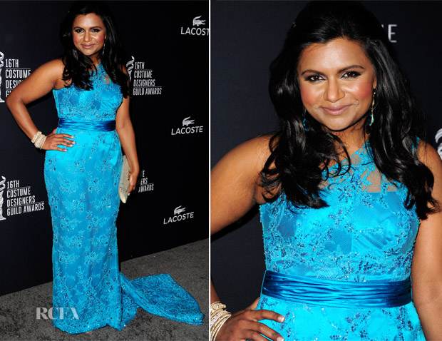 Mindy Kaling In Salvador Perez -  16th Annual Costume Designers Guild Awards
