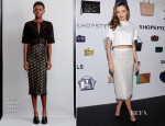 Miranda Kerr In Louise Goldin & Jenni Kayne - We Search. We Find. We ShopStyle Launch