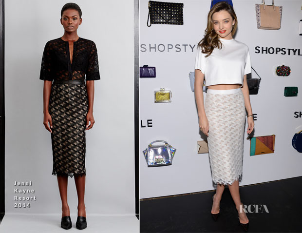 Miranda Kerr In Jenni Kayne - We Search We Find We ShopStyle Launch