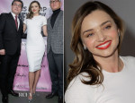 Miranda Kerr In Victoria Beckham - GS Shop Lingerie Fashion Show