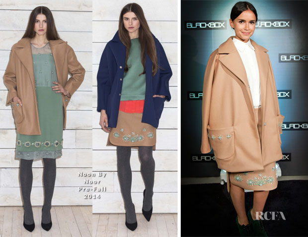 Miroslava Duma In Noon By Noor - Black Box Concierge Launch