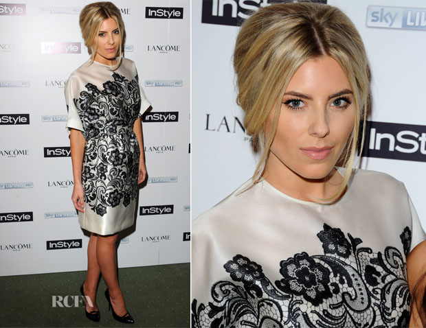 Mollie King In Dolce & Gabbana - InStyle Best Of British Talent Pre-BAFTA Party