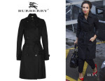 Myleene Klass' Burberry London Cotton-Twill Trench Coat