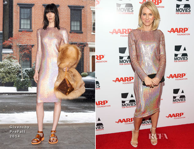 Naomi Watts In Givenchy - 13th annual AARP Movies For Grownups Awards Gala