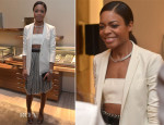 Naomie Harris In Calvin Klein Collection - David Yurman Boutique Opening