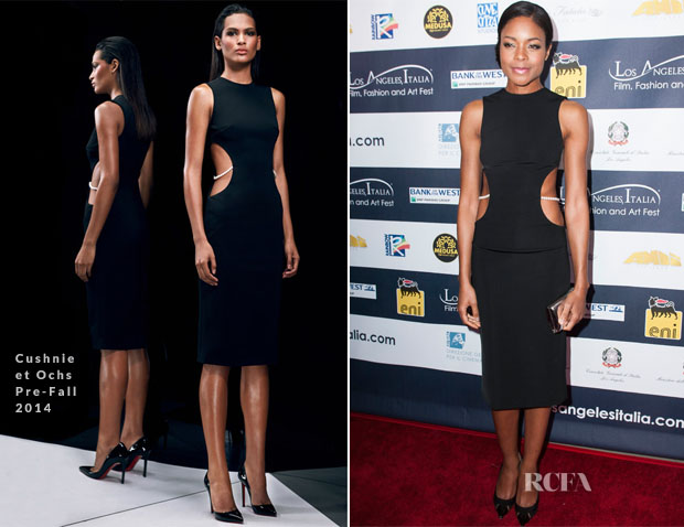Naomie Harris In Cushnie et Ochs - 9th Annual Los Angeles - Italia Film, Fashion and Art Fest Opening Night Gala