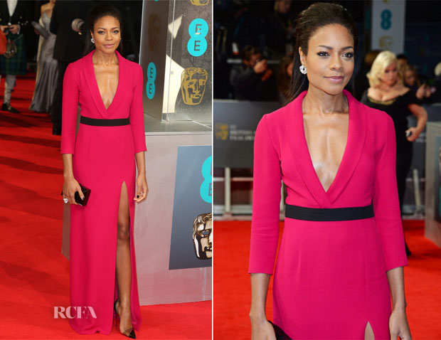 Naomie Harris In Gucci - 2014 BAFTAs