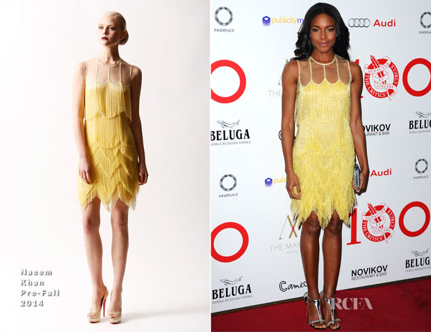 Naomie Harris In Naeem Khan - The London Critics' Circle Film Awards