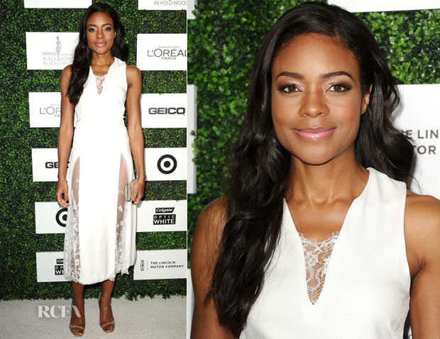 Naomie Harris In Wes Gordon - 7th Annual ESSENCE Black Women In Hollywood Luncheon