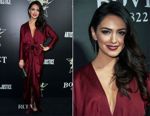 Nazanin Boniadi In Paule Ka - 7th Annual Hollywood Domino and Bovet 1822 Gala