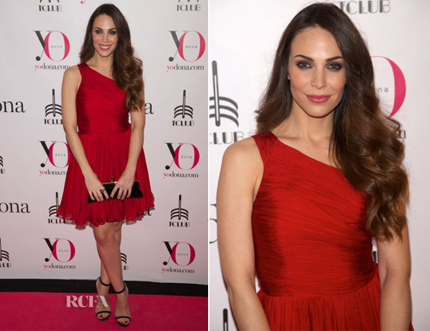 Nerea Garmendia In Halston Heritage - Yo Dona Magazine Party