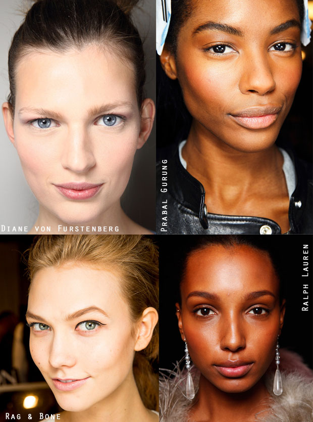 New York Fashion Week Beauty Trend Fresh, Dewy Skin
