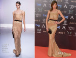 Nieves Alvarez In Ralph & Russo Couture - Goya Cinema Awards 2014