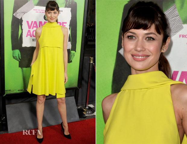 Olga Kurylenko In Christian Dior - 'Vampire Academy' LA Premiere