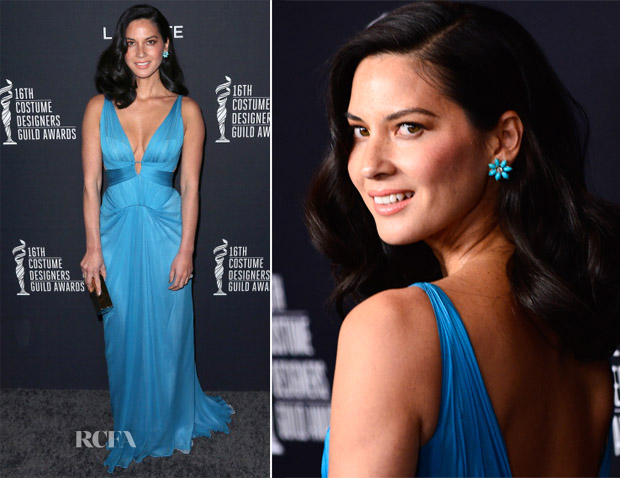 Olivia Munn In JMendel - 16th Annual Costume Designers Guild Awards
