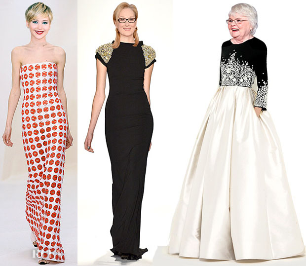 Oscars 2014 Red Carpet Dress Predictions What the Stars Should Wear