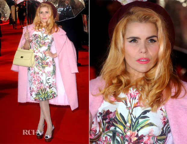 Paloma Faith In Dolce & Gabbana - 'Cuban Fury' World Premiere
