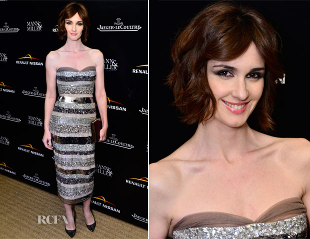 Paz Vega In Georges Hobeika -  100th Anniversary Celebration Of 'The Tramp'