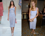 Poppy Delevingne In Burberry Prorsum - Harvey Weinstein's Pre-BAFTA Dinner