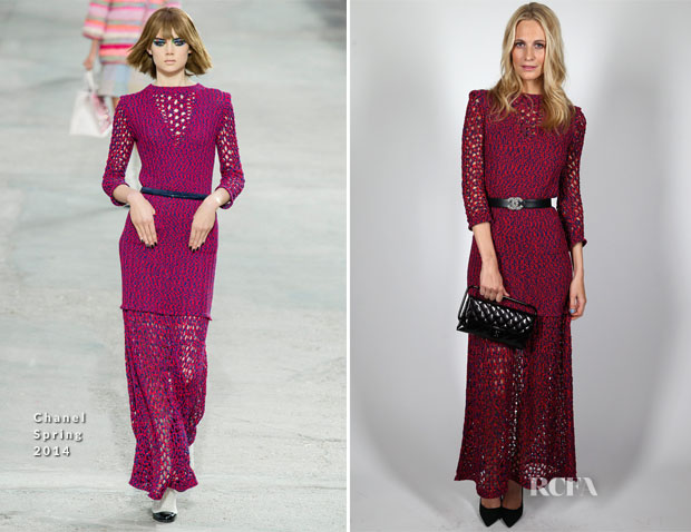 Poppy Delevingne In Chanel - Charles Finch & Chanel Pre BAFTA Party