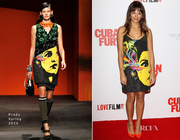 Rashida Jones In Prada - 'Cuban Fury' World Premiere