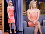 Reese Witherspoon In Roland Mouret - The Tonight Show Starring Jimmy Fallon