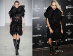 Rita Ora In John Rocha - Brit Awards 2014 After-Parties