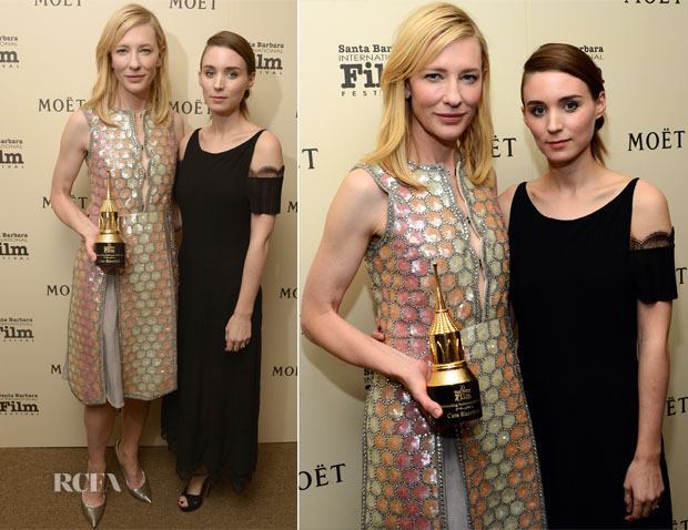 Rooney Mara In Chanel - 29th Santa Barbara International Film Festival
