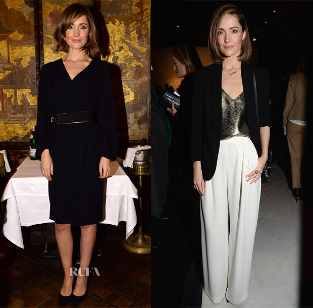 Rose Byrne In Max Mara - Milan Fashion Week