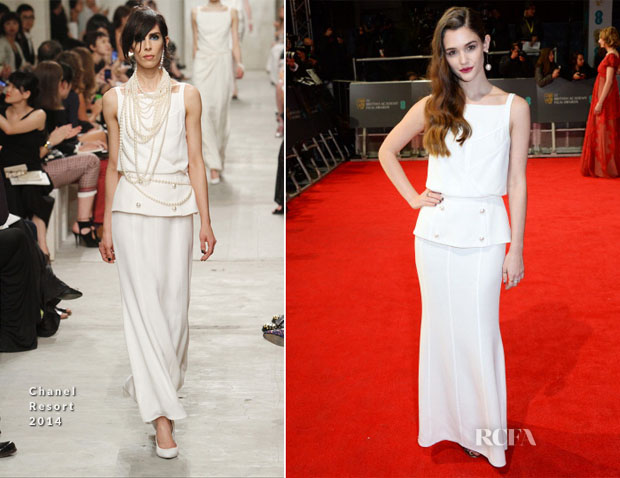 Sai Bennett In Chanel - 2014 BAFTAs