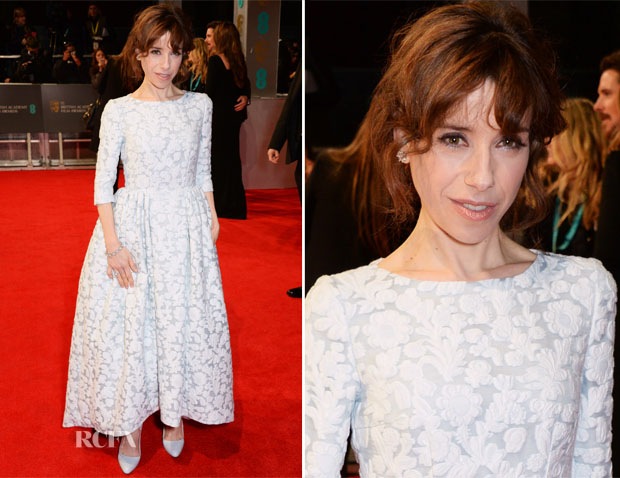 Sally Hawkins In Mulberry - 2014 BAFTAs