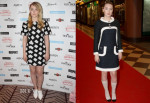 Saoirse Ronan In Narciso Rodriguez & Chanel - 'The Grand Budapest Hotel' Prague Photocall & Premiere
