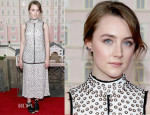Saoirse Ronan In Proenza Schouler - 'The Grand Budapest Hotel' New York Premiere