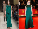 Saoirse Ronan In Valentino -'The Grand Budapest Hotel' Berlinale Film Festival Premiere