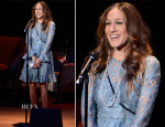 Sarah Jessica Parker In Dolce & Gabbana - Great American Songbook Event Honoring Bryan Lourd