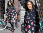 Sarah Jessica Parker In Dolce & Gabbana - Out In New York City