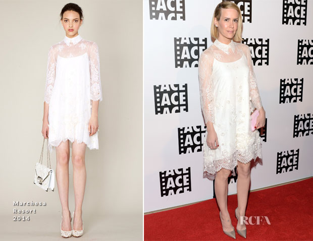 Sarah Paulson In Marchesa - 64th Annual ACE Eddie Awards