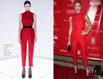 Stacy Keibler In Camilla and Marc - 2014 Shape & Men's Fitness Super Bowl Party