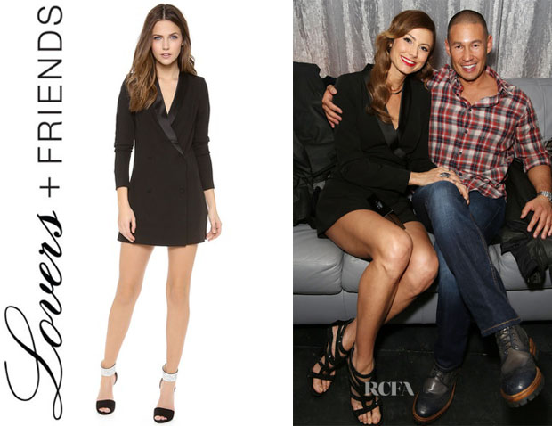 Stacy Keibler's Lovers + Friends 'Monica Rose Keaton' Dress