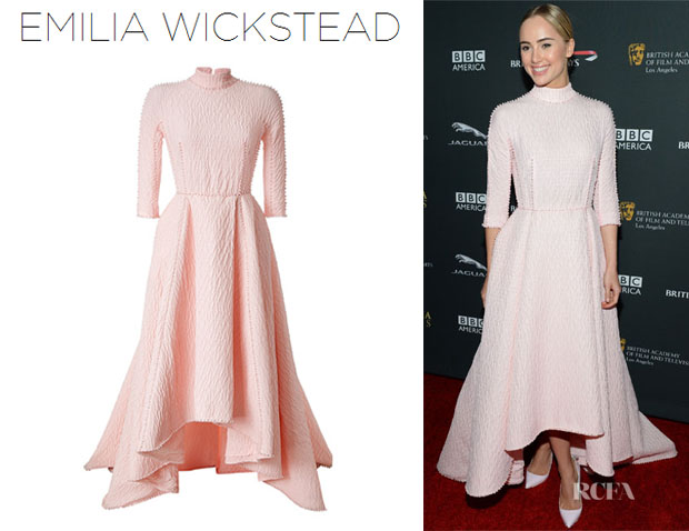 Suki Waterhouse's Emila Wickstead 'Melinda' Dress