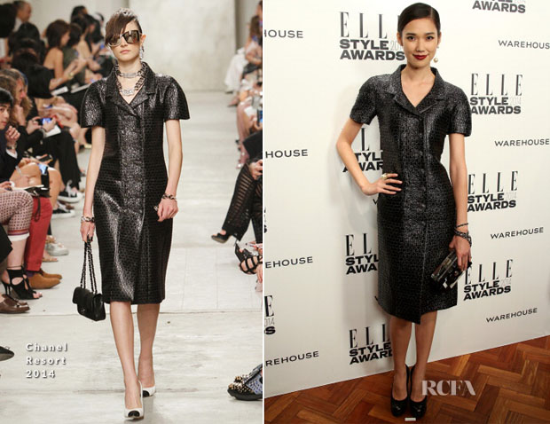 Tao Okamoto In Chanel – Elle Style Awards 2014