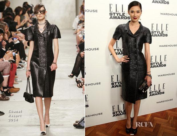 Tao Okamoto In Chanel – Elle Style Awards 2014