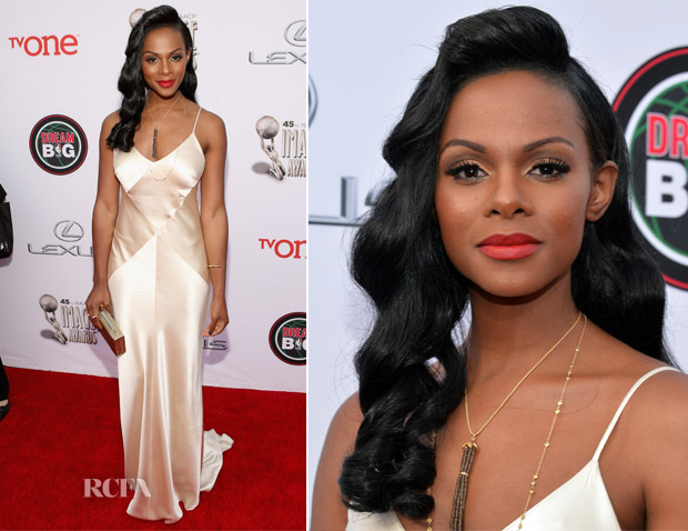 Tika Sumpter In Johanna Johnson - NAACP Image Awards 2014