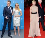 Toni Collette In Karolina Zmarlak & Robin Brouillette - 'A Long Way Down' Berlin Film Festival