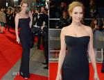 Uma Thurman In Atelier Versace - 2014 BAFTAs