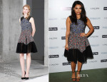 Vanessa White In Emilio De La Morena - InStyle Best Of British Talent Pre-BAFTA Party