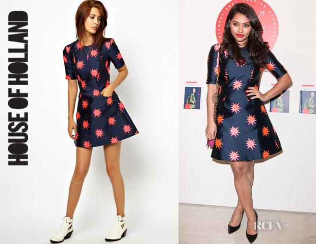 Vanessa White's House of Holland 'Starburst Disco' Dress