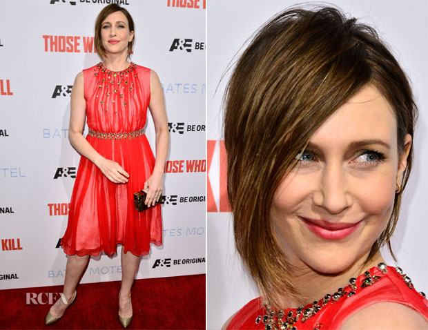 Vera Farmiga In Prada - 'Bates Motels' Season 2 Premiere